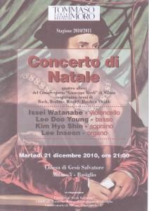 Concerto Natale 21 dicembre 2010