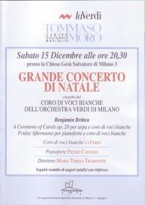 Concerto di Natale 15 dicembre 2012