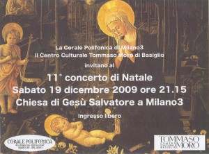 Iniziativa Concerto Natale 19.12.2009