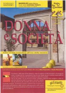 Iniziativa Donna e società 23.06.2009