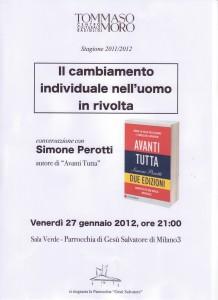 Iniziativa Il cambiamento 27.01.2012