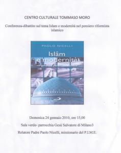 Iniziativa Islam e modernità 24.01.2010