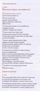 Preghiera per la Pace - Beato Giovanni Paolo II