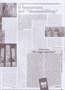 articolo Il cambiamento individuale per l'uomo in rivoltafebbraio 2012