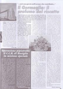 articolo Il germoglio, il profumo del riscatto dicembre 2011