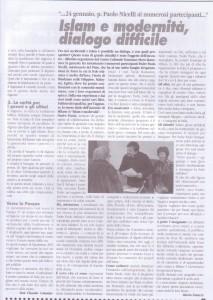 articolo Islam e modernità febbraio 2010