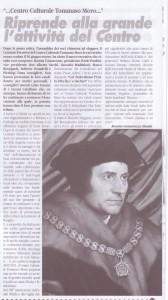 articolo Riprende l'attività ottobre 2010