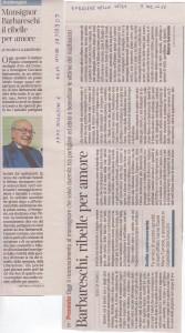 articolo un maestro di fede e di coraggio corriere 7.12.2011