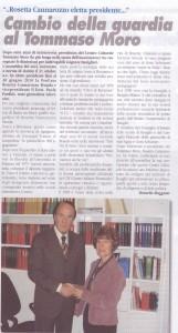 cambio presidenza Brunello - Cannarozzo 31 ottobre 2009