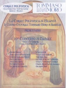 iniziativa Concerto di Natale 2008