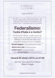 iniziativa Federalismo 29.10.2010