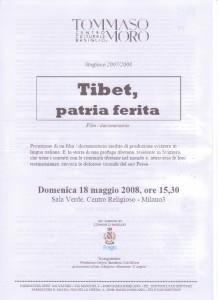 iniziativa Tibet patria ferita 18.05.2008